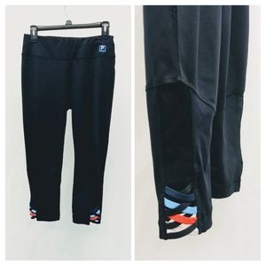 Fila Sport MEDIUM Black Leggings Mesh     BP88